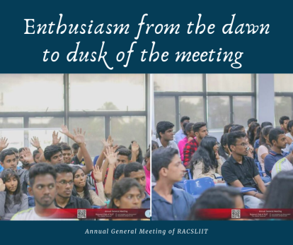 Annual General Meeting of RACSLIIT