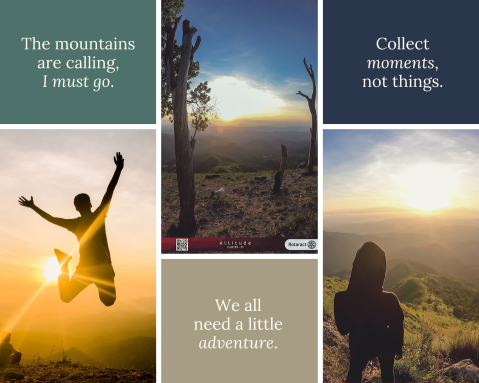 Travel Quotes Photo Collage