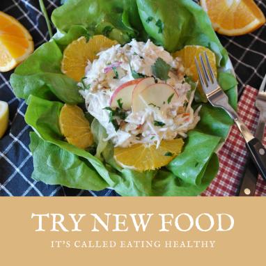 Eating Healthy Instagram Post